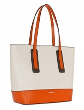Сумка ELEGANZZA Z295-2408-1-R ivory/orange/brown